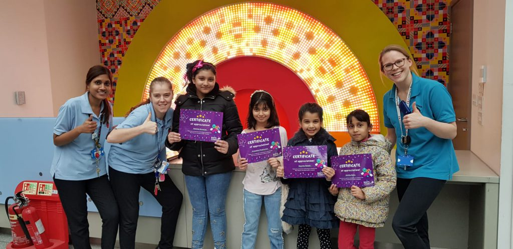 Our Utsav kids have raised money for Barts!